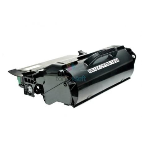 Lexmark T654X21E - T654 BK Black - čierny kompatibilný toner - 36.000 strán, 100% Nový