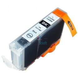 Kompatibilný Canon BCI-6 / BCI6 BK Black - čierna cartridge - 17 ml