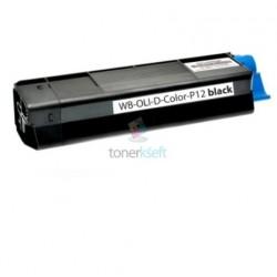 Olivetti DColor P12 (B0455) BK Black - čierny kompatibilný toner - 6.000 strán, 100% Nový