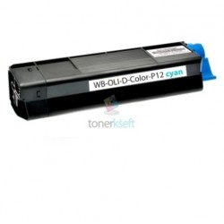 Olivetti DColor P12 (B0456) C Cyan - modrý kompatibilný toner - 6.000 strán, 100% Nový