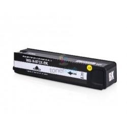 HP 973X / L0S07AE HP č.973X BK Black - čierna kompatibilné cartridge s čipom - 183 ml