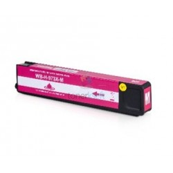 HP 973X / F6T82AE HP č.973X M Magenta - červená kompatibilná cartridge s čipom - 85 ml