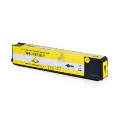 HP 973X / F6T83AE HP č.973X Y Yellow - žltá kompatibilné cartridge s čipom - 85 ml