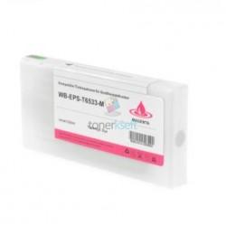 Kompatibilný Epson T6533 / T-6533 XL (C13T653300) M Magenta - červená cartridge s čipom - 200 ml