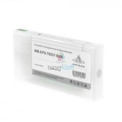 Kompatibilný Epson T6537 / T-6537 XL (C13T653700) LBK Light Black - svetlo čierna cartridge s čipom - 200 ml