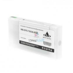 Kompatibilný Epson T6538 / T-6538 XL (C13T653800) MBK Matte Black - matná čierna cartridge s čipom - 200 ml