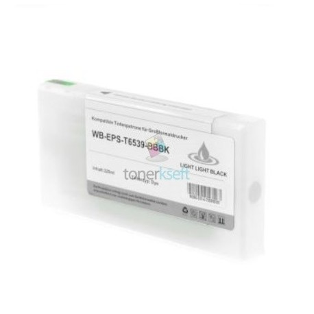 Kompatibilný Epson T6539 / T-6539 XL (C13T653900) LLBK Light Light Black - svetlo svetlo čierna cartridge s čipom - 200 ml