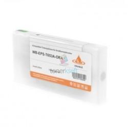 Kompatibilný Epson T653A / T-653A XL (C13T653A00) O Orange - oranžová cartridge s čipom - 200 ml