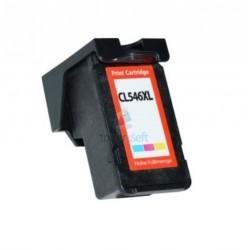 Kompatibilný Canon CL-546 XL / CL546 XL Color - trojfarebná vysokokapacitné cartridge s čipom - 17 ml