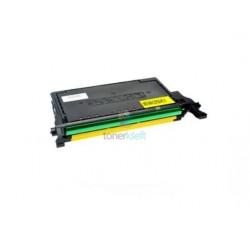 Samsung CLP-620 (CLT-Y5082L / EĽS) Y Yellow - žltý kompatibilný toner - 4.000 strán, 100% Nový
