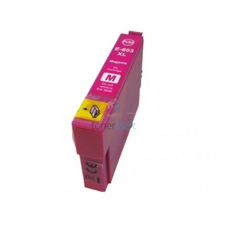 Kompatibilný Epson 603XL / 603 XL (C13T03A34010) M Magenta - červená cartridge s čipom - 14 ml