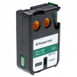 Dymo 1868782 XTL - páska 19mm x 7m čierný tlač / zelený podklad vinyl kompatibilný