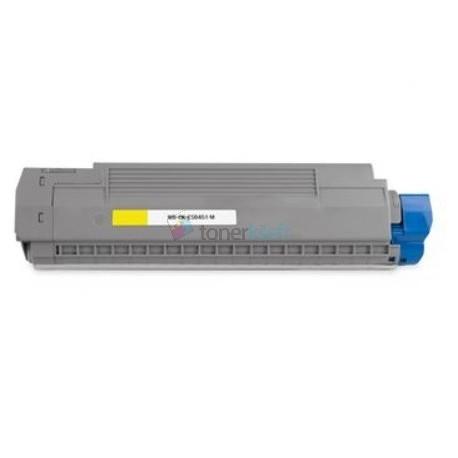 OKI 44059257 (ES8451) Y Yellow - žltý kompatibilný toner - 9.000 strán, 100% Nový