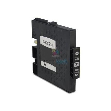 Ricoh GC21 / GC21 (405532) BK Black - čierna Ricoh kompatibilné cartridge s čipom - 37 ml