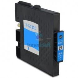 Ricoh GC21 / GC21 (405533) C Cyan - modrá Ricoh kompatibilné cartridge s čipom - 27 ml