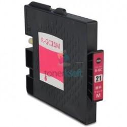Ricoh GC21 / GC21 (405534) M Magenta - červená Ricoh kompatibilné cartridge s čipom - 27 ml