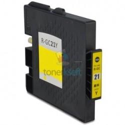 Ricoh GC21 / GC21 (405535) Y Yellow - žltá Ricoh kompatibilné cartridge s čipom - 27 ml