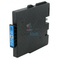 Ricoh GC31 / GC31 (405689) C Cyan - modrá Ricoh kompatibilné cartridge s čipom - 27 ml