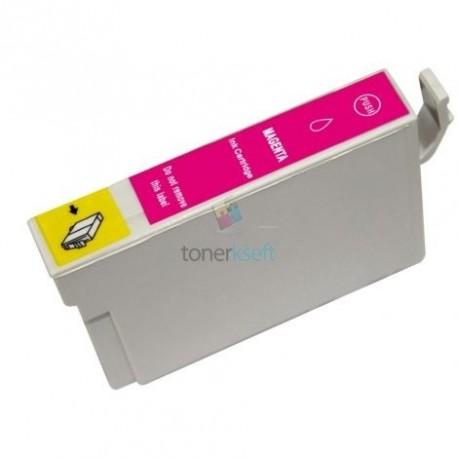 Kompatibilný Epson T0803 / T-0803 M Magenta - červená cartridge s čipom - 18 ml