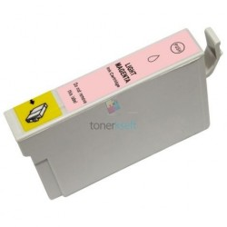 Kompatibilný Epson T0806 / T-0806 LM Light Magenta - červená cartridge s čipom - 18 ml