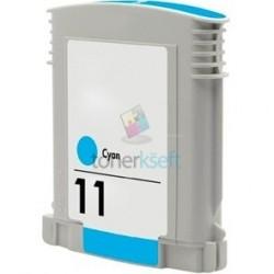 Kompatibilný HP 11 / C4836A HP č.11 C Cyan - modrá cartridge s čipom - 28 ml
