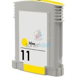 Kompatibilný HP 11 / C4838A HP č.11 Y Yellow - žltá cartridge s čipom - 28 ml