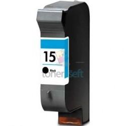 Kompatibilný HP 15 / C6615 DE HP č.15 BK Black - čierna cartridge s čipom - 45 ml