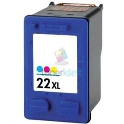Kompatibilný HP 22 / C9352A HP č.22 XL Color - trojfarebná cartridge s čipom - 21 ml