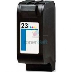 Kompatibilný HP 23 / C1823D HP č.23 Color - trojfarebná cartridge s čipom - 47 ml