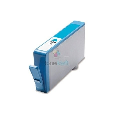 Kompatibilný HP 364 XL / CB323EE HP č.364 XL C Cyan - modrá cartridge s čipom - 15 ml