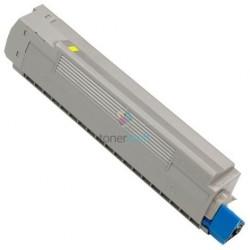 OKI 43487709 (C8600 / C8800) Y Yellow - žltý kompatibilný toner - 6.000 strán, 100% Nový