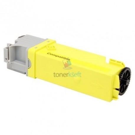 106R01454 / 106R01458 (Xerox 6128) Y Yellow - žltý kompatibilný toner - 2.500 strán, 100% Nový