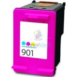 Kompatibilný HP 901 XL / CC656AE HP č.901 XL Color - trojfarebná cartridge s čipom - 19 ml